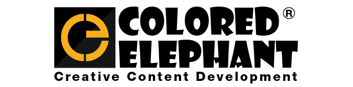 Colored Elephant Logo